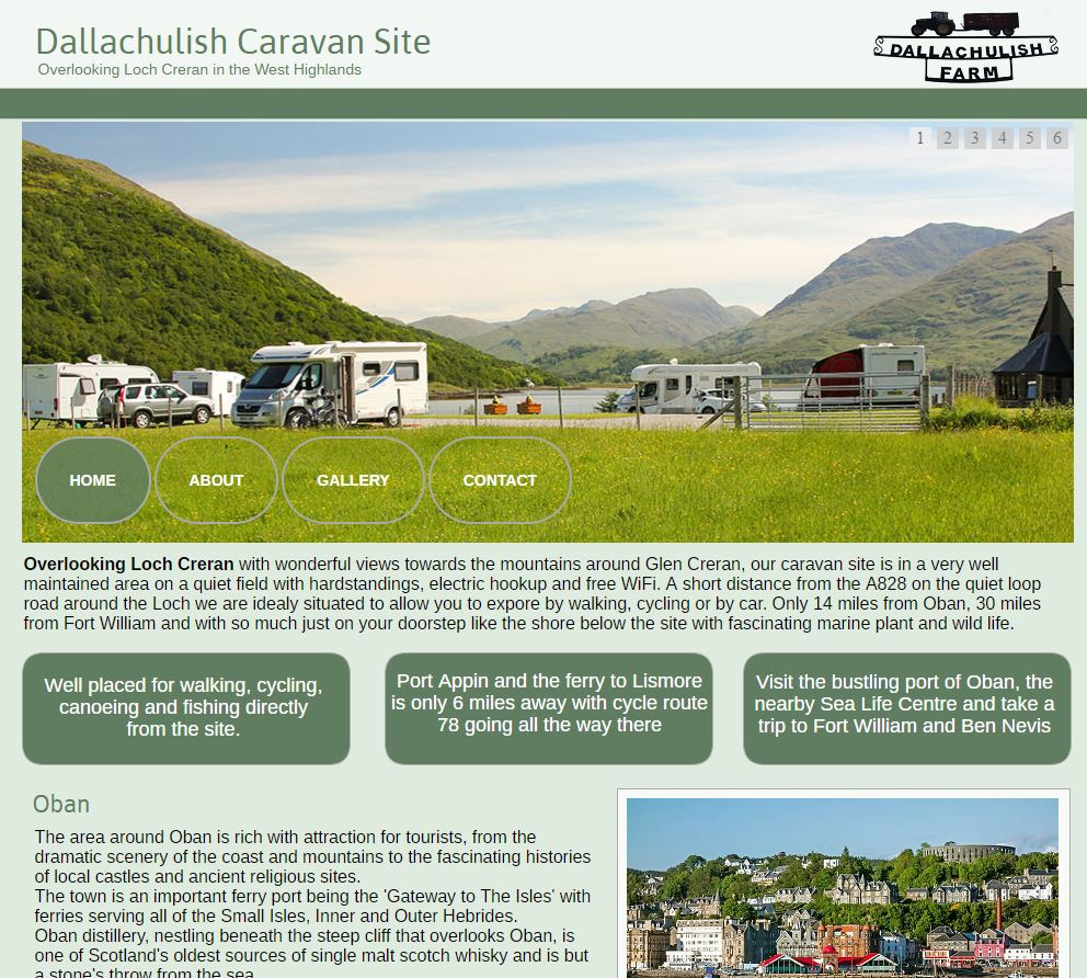 Dalluchulish Caravan Site