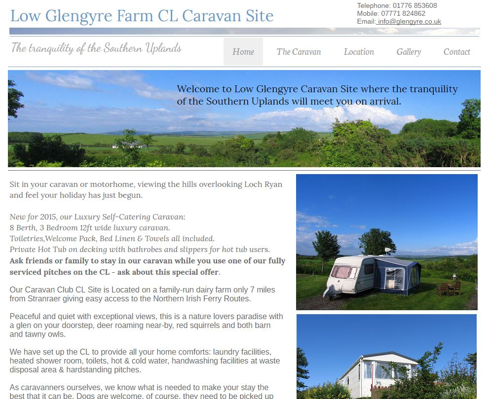 Low Glengyre Caravan Site