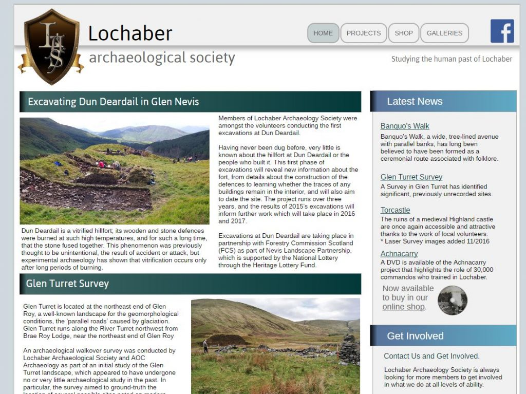 Lochaber Archaeological Society