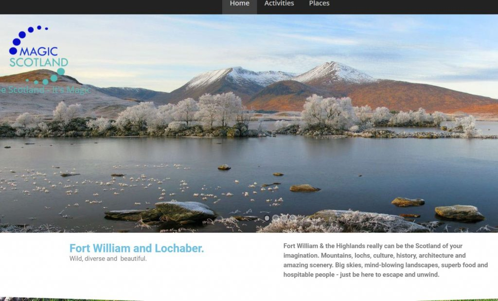 Magic Scotland Guide to Fort William and Lochaber