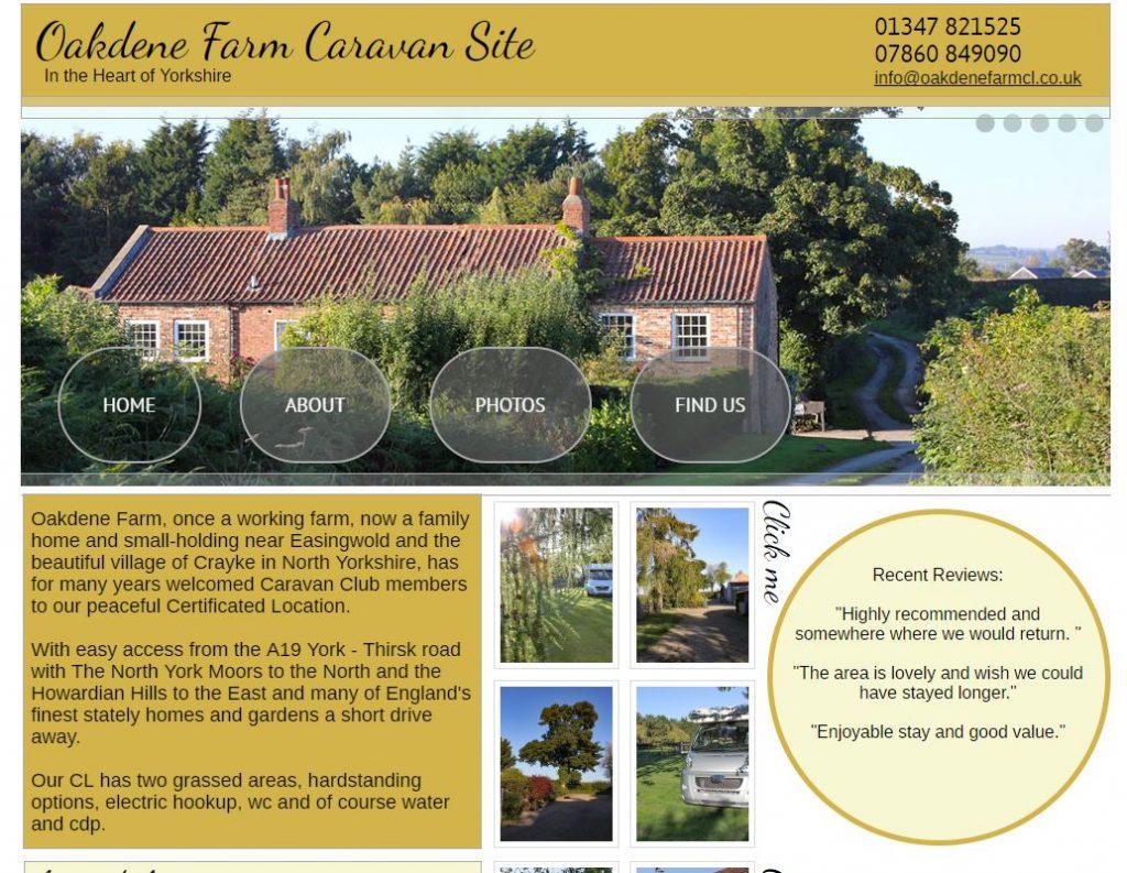 Oakdene Farm Caravan Site