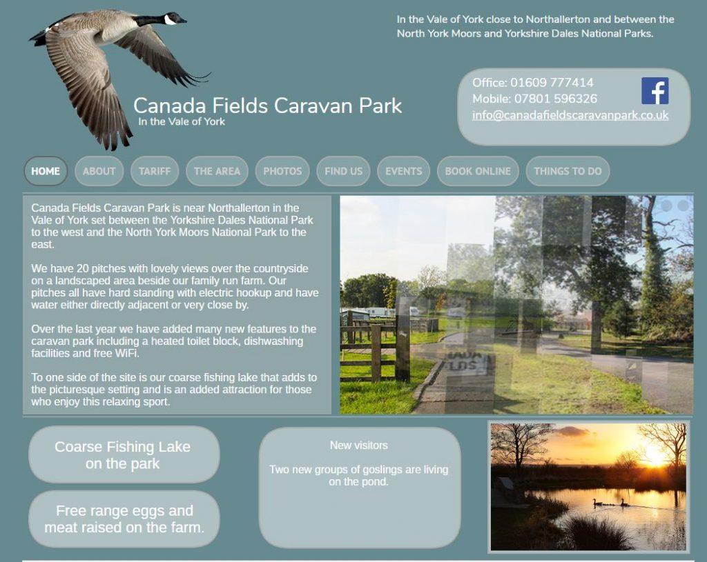 Canada fields Caravan Park