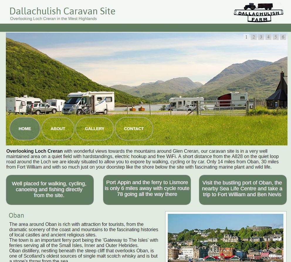 Dalluchulish Caravan Site