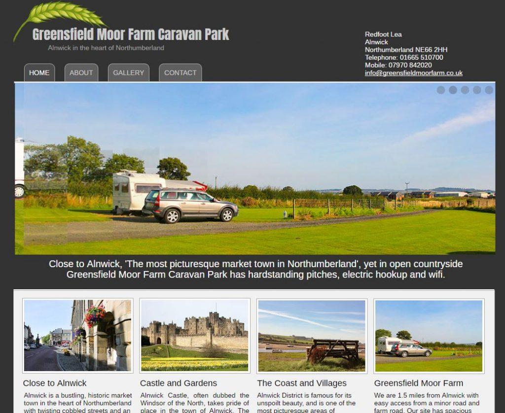 Greensfield Moor Farm Caravan Site