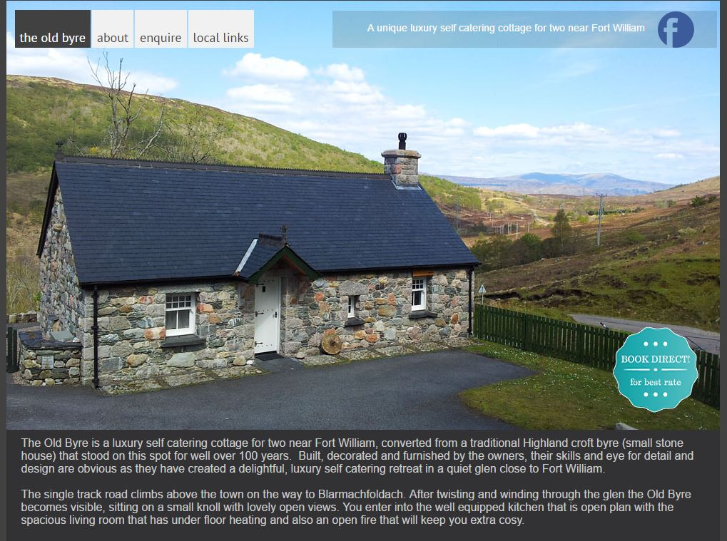 The Old Byre in Fort William