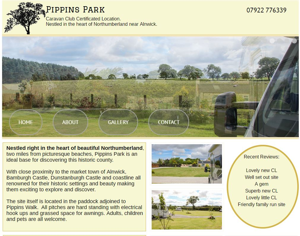 Pippinspark Caravan Site